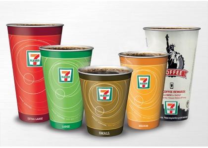 เกือบครึ่งหนึ่งของถ้วยกระดาษไม่เพียงพอหรือใช้กระดาษเหลือทิ้ง