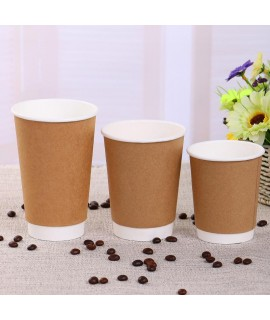 8OZ advanced double-layer paper cup, double insulated cup, vacuum cup, vacuum drink cup, coffee insulated cup